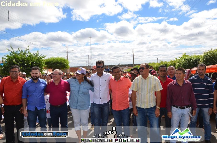 Audiência contra Reforma da Previdência reúne grande público em Jacobina do Piauí. Fotos!
