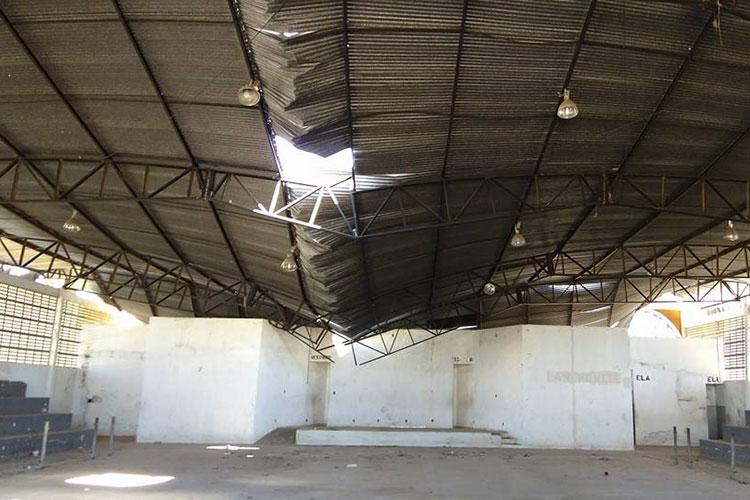 Wellington Dias decreta estado de emergência no ginásio Vicentão