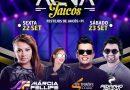 Márcia Fellipe, Erika Diniz, Solteirões e Pedrinho Pegação no Arena Jaicós; shows iniciam nesta sexta (22)