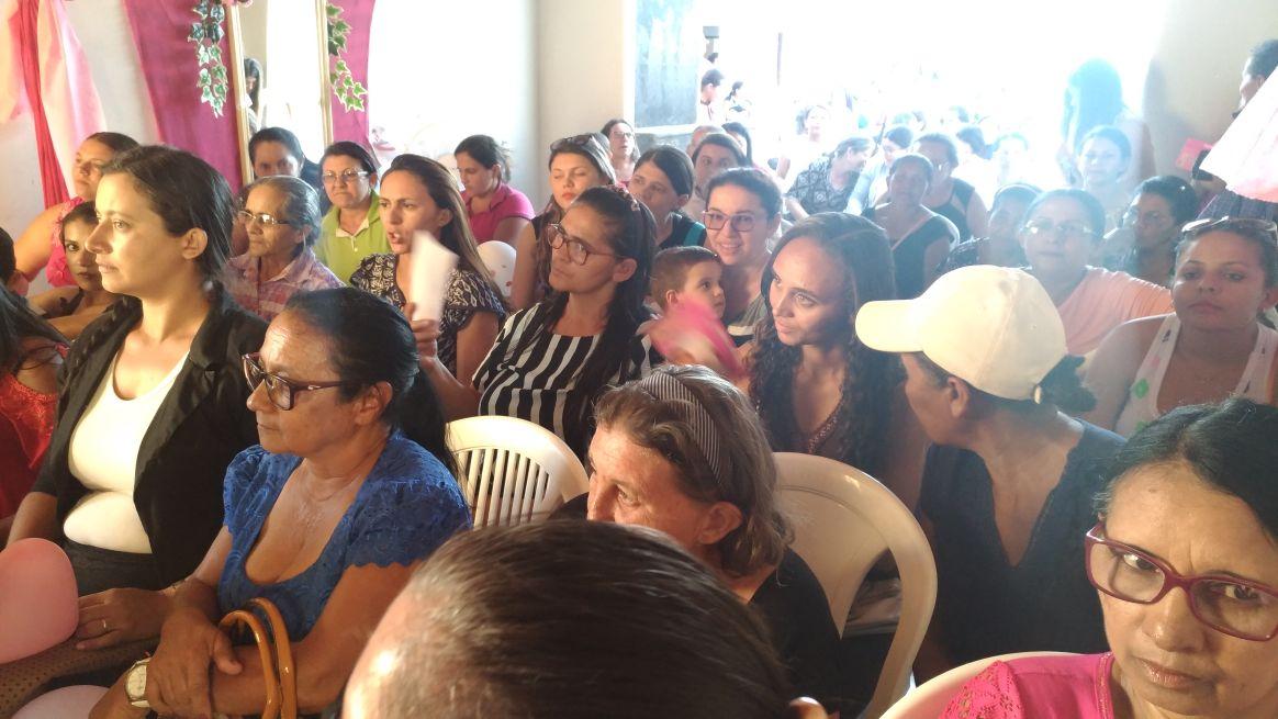 População participa ações do Outubro Rosa em Jacobina do Piauí