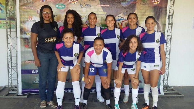 Seleção de Santa Cruz faz história e classifica para semifinal do Campeonato Piauiense de Futsal em Teresina