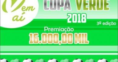 JACOBINA: III edição da Copa Verde terá 16 seleções e R$ 16 mil reais em premiação. Veja!