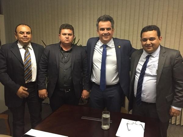 Em Brasília, prefeito Tairo Mesquita busca recursos para Santo Inácio do Piauí