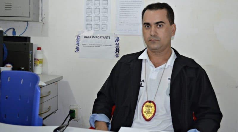 Delegado da Polícia Civil de Jaicís Miguel Carneiro. Foto: Reprodução.