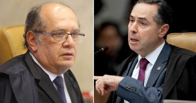 """""""Você é uma pessoa horrível, uma mistura do mal com atraso e pitadas de psicopatia"""", diz Barroso a Gilmar"""