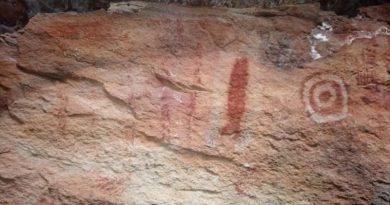 Pinturas rupestres são encontradas na zona rural de Itainópolis. Veja fotos