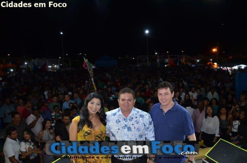 Prefeito realiza aniversário de Santo Inácio com diversas atividades e grande festa Veja fotos!