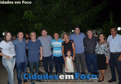 Aniversário do prefeito Danilo e deputado Rubem reúne políticos em Wall Ferraz