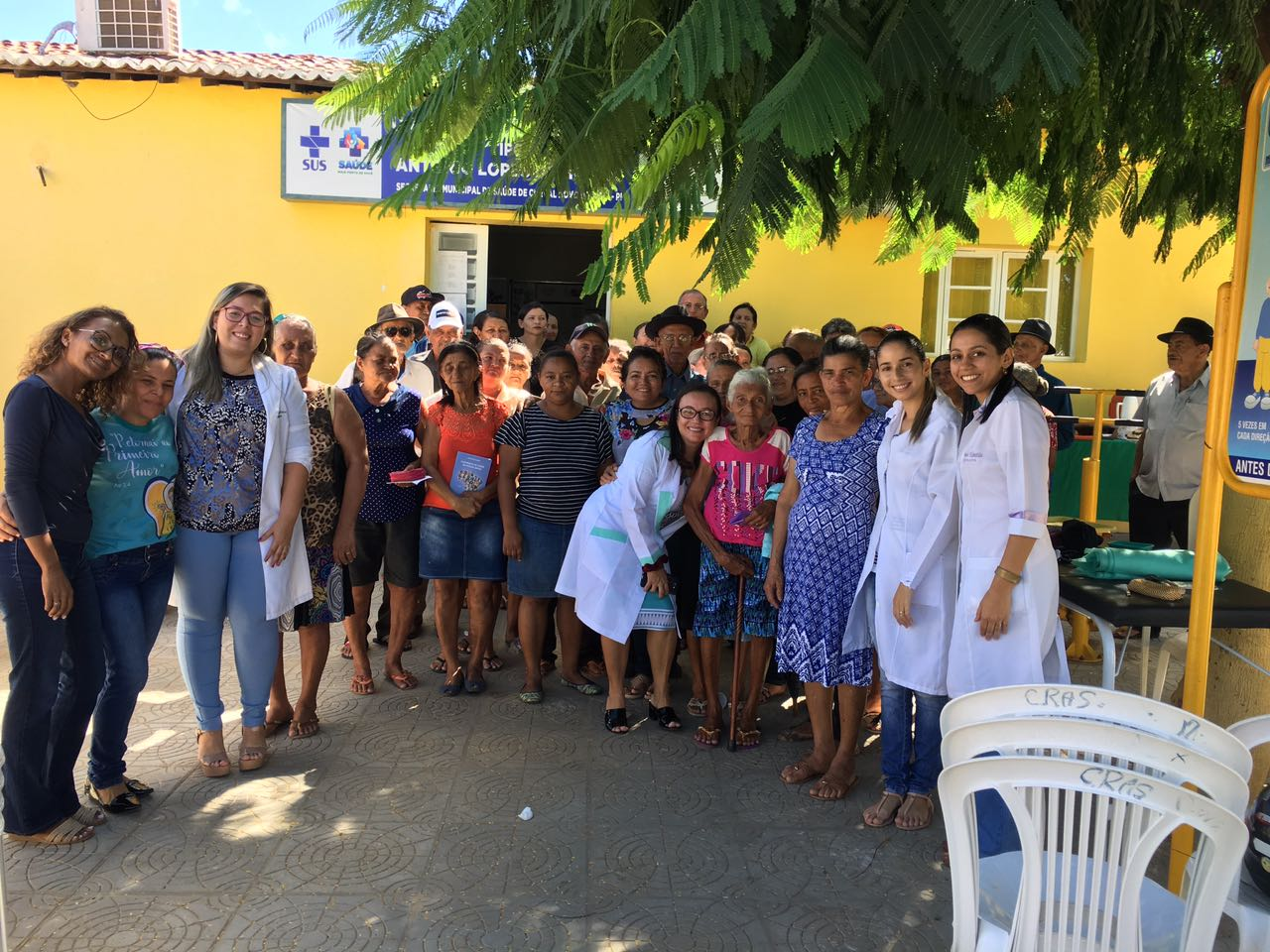 Prefeitura realiza ação educativa e palestras para pacientes de Hiperdia em Curral Novo