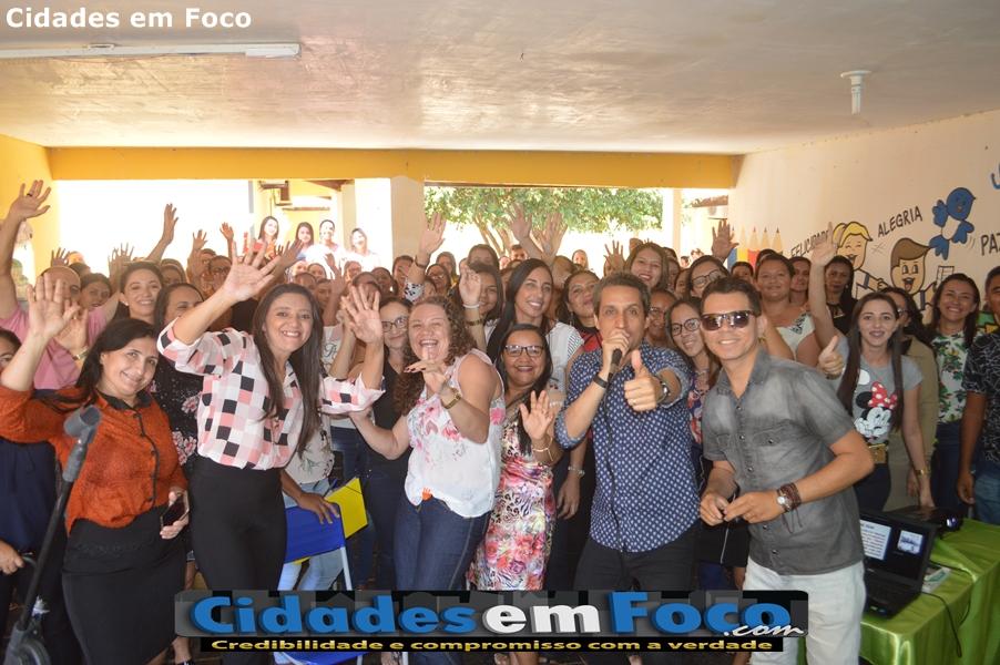 Prefeitura promove Jornada Pedagógica com palestra de Isaque Folha em Curral Novo do Piauí