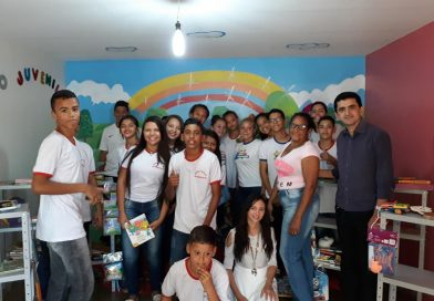 Secretaria Municipal de Educação inaugura biblioteca infanto-juvenil em Floresta do Piauí