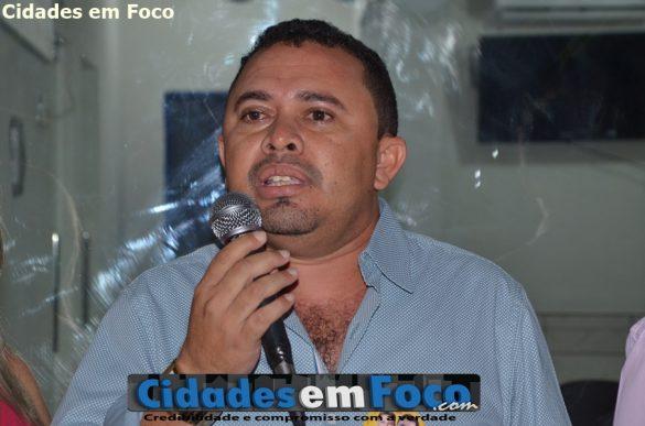 Secretário Municipal de Saúde - Edilson Pimentel