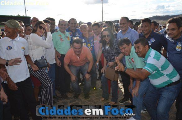 PREFEITO TONINHO E COMITIVA DE CARIDADE PRESENTES EM PATOS
