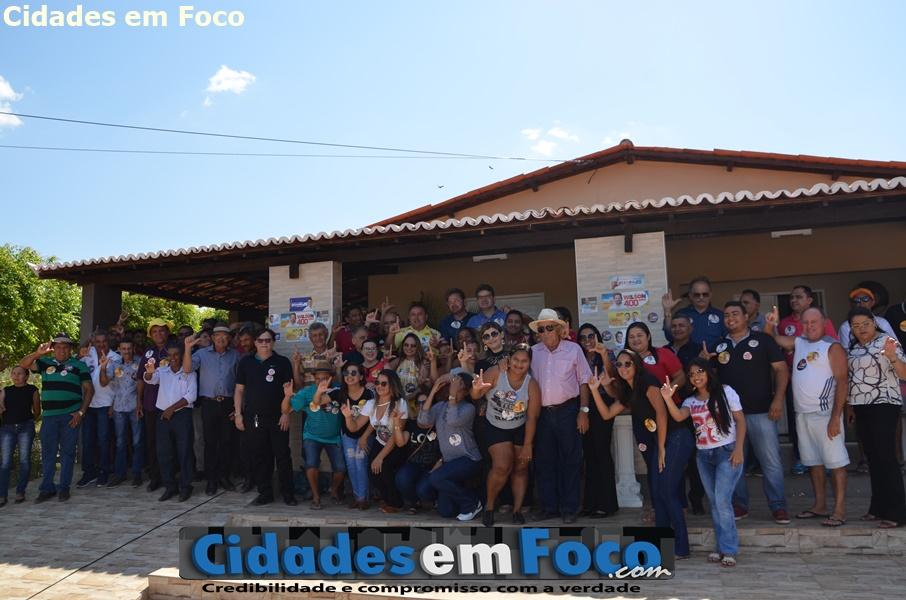 Luciano Nunes consegue adesão de prefeito na região de Paulistana
