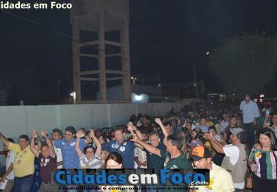 Wilson Martins e Luciano visitam Patos, Jacobina, Acauã, Queimada Nova e Paulistana. Fotos!