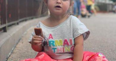 Criança cearense de dois anos pede cuscuz em restaurante na Disney e viraliza na web