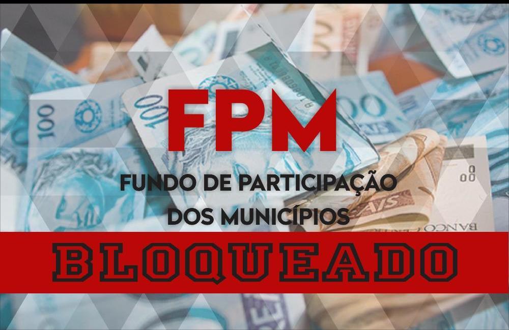 Tesouro Nacional bloqueia FPM de 12 municípios do Piauí. Veja lista!
