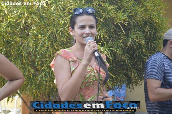 Secretária de Assistência Social de Queimada Nova - Elidiane Andrade!