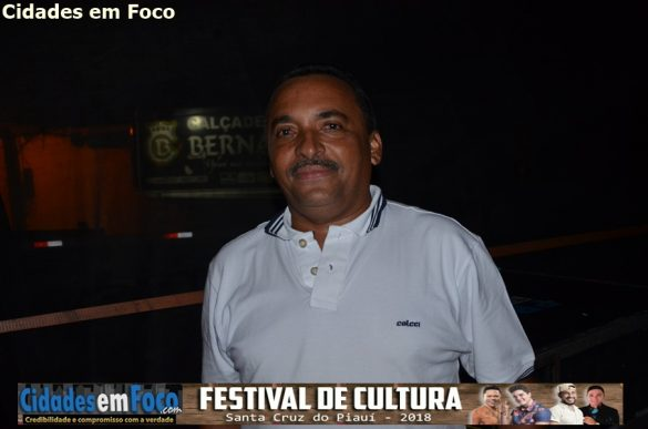 Vice-prefeito de Santa Cruz do Piauí - Nego de Boza!