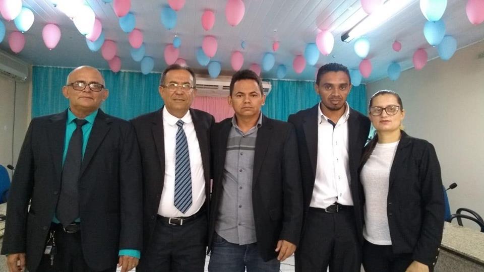 Vereador Dedé é reeleito presidente da Câmara de Vereadores de Conceição do Canindé