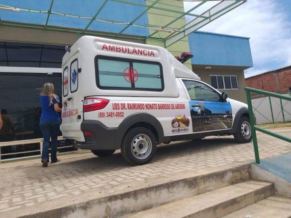 Nova ambulância reforça serviços de saúde em Nova Santa Rita do Piauí