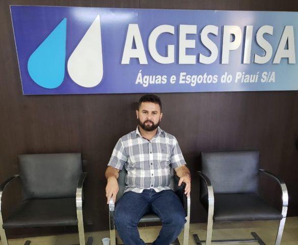 A reunião contou com a presença do presidente da Agespisa, do diretor de operações  José Maria Freitas e do diretor de engenharia Carlos Augusto.
