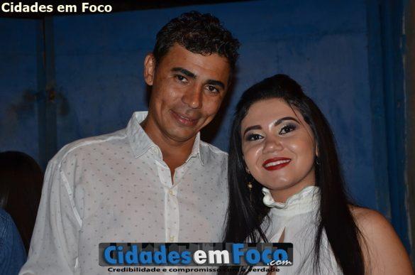 Prefeito Junior de Abel e a primeira dama Cidinha Oliveira