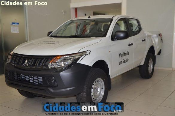 Veículo L-200 será entregue aos municípios após a realização de vistoria!