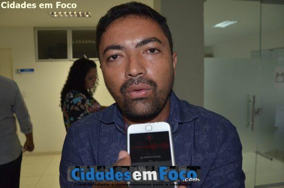 Secretário Municipal de Saúde Isnaldo Ribeiro