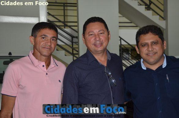 Prefeito Antônio Chico, prefeito Zitim e prefeito Gilson Castro em Teresina!