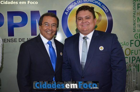 Presidente Jonas Moura e vice Tairo Mesquita
