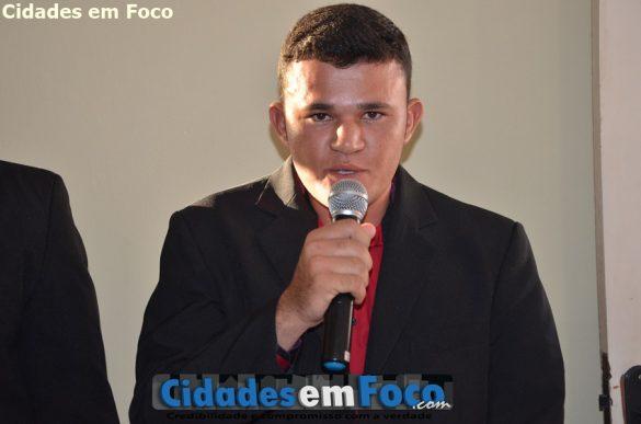 Vereador Marcos Geovane de Lagoa do Barro do Piauí