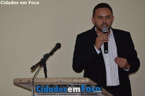 Prefeito Gilson Nunes de Lagoa do Barro do Piauí