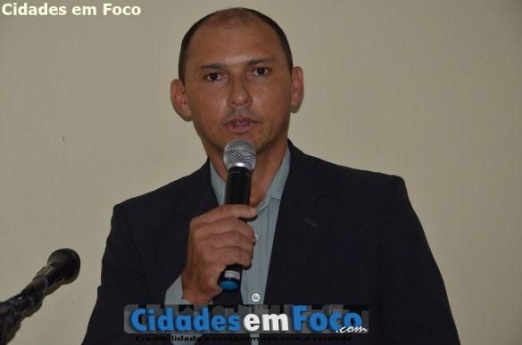 Presidente da Câmara, vereador Mouracy Siqueira - Lagoa do Barro do Piauí
