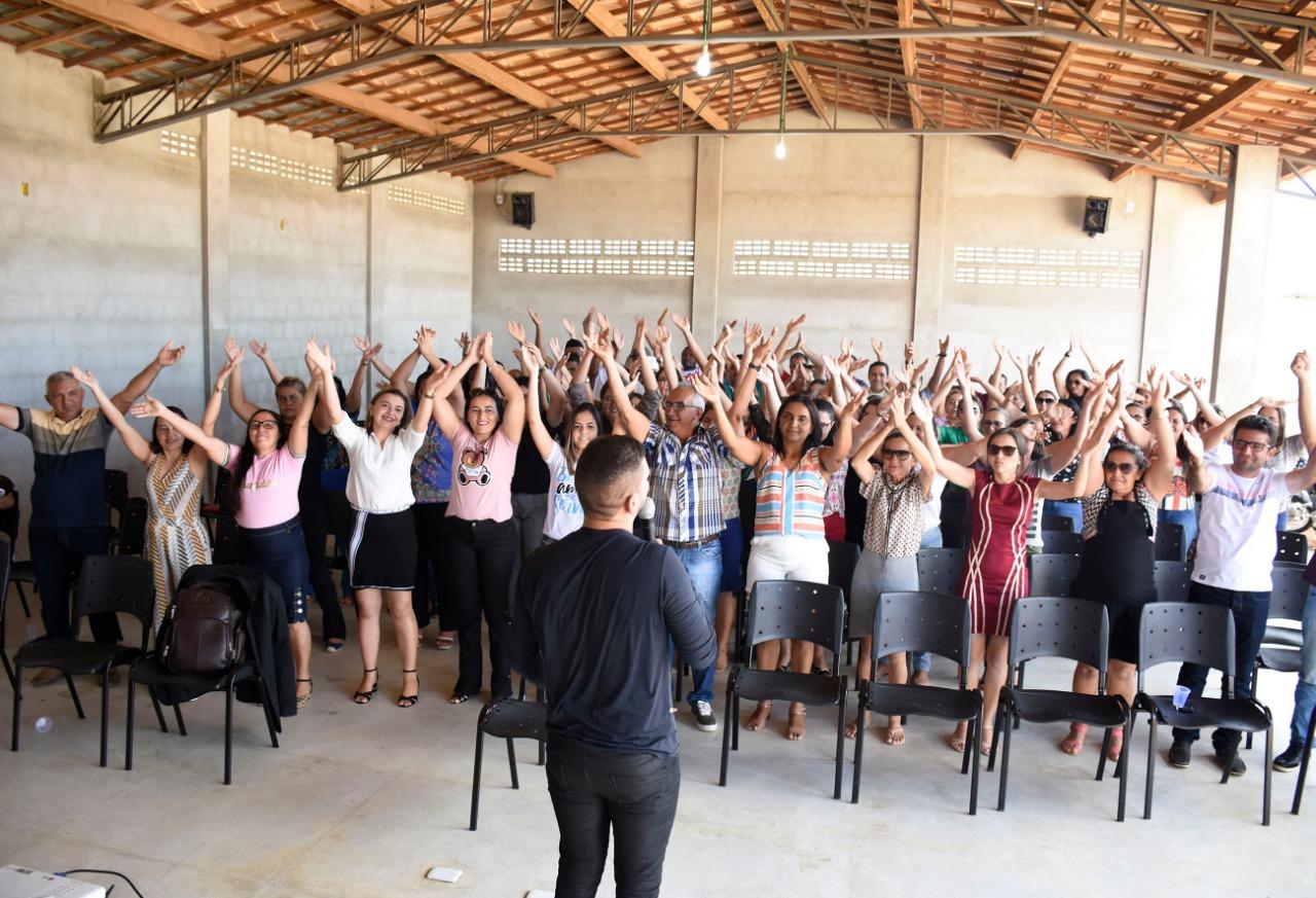 Prefeitura de Betânia do Piauí realiza Semana Pedagógica para profissionais da educação