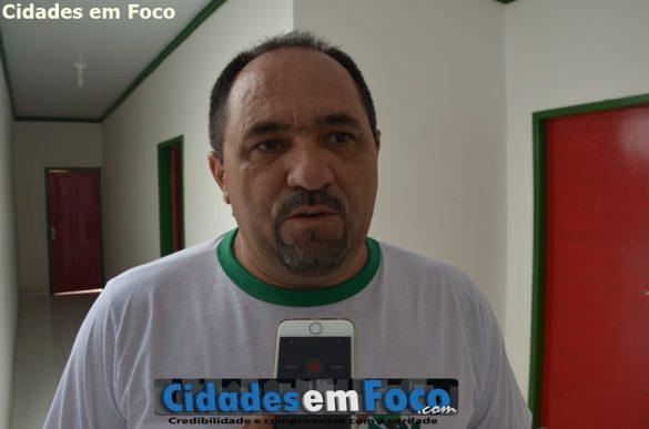 Secretário de Meio Ambiente, Gerson de Miranda Rodrigues, o Nen, como é conhecido!